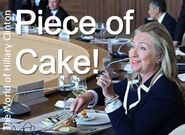 Piece of Cake - Hillary Clinton