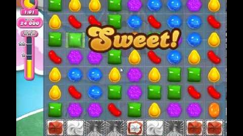 Candy Crush Saga Level 283 - 1 Star - no boosters