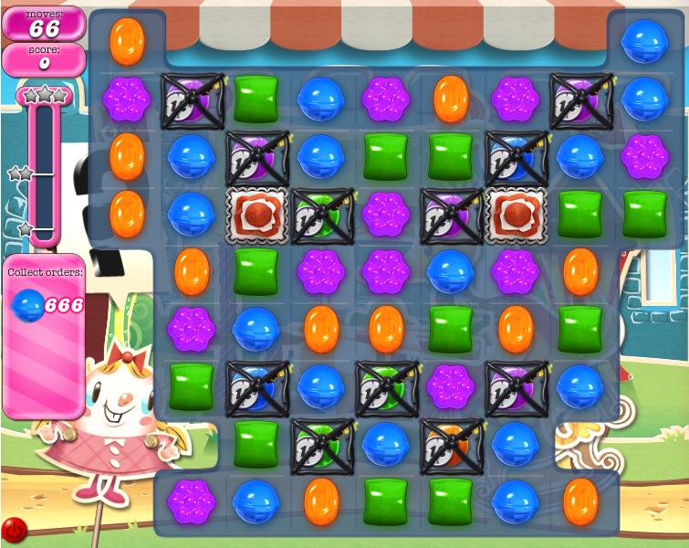 Level 666 Versions   Candy Crush Saga Wiki   Fandom powered by Wikia