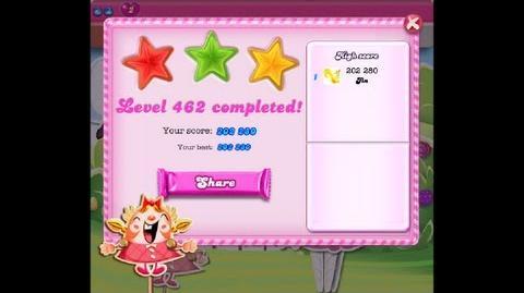 Candy Crush Saga Level 462 ★★★ NO BOOSTER