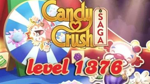 Candy Crush Saga Level 1376