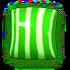 Striped green v