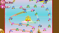Candy Clouds Map Mobile