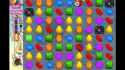 Candy Crush Saga Level 121 ✰ No Boosters 55 240 pts