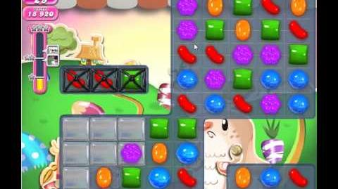 Candy Crush Saga Level 71 - 2 Star - no boosters