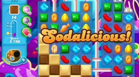 video candy crush soda saga level 602 (2nd buffed, 3