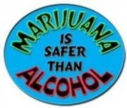 Marijuana is safer than alcohol 2