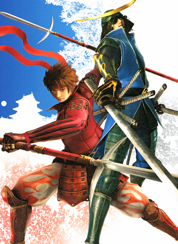 File:BASARA Japanese Cover Art.png
