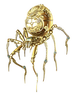 Asuras Wrath Golden Spider
