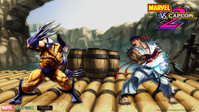 File:Marvel Vs Capcom 2 wallpaper - Wolverine & Ryu.jpg