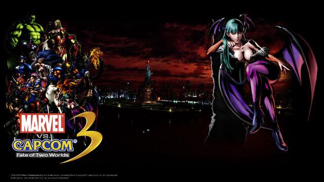File:Marvel Vs Capcom 3 wallpaper - Morrigan.jpg