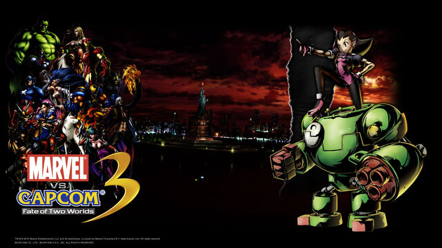 File:Marvel Vs Capcom 3 wallpaper - Tron Bonne.jpg
