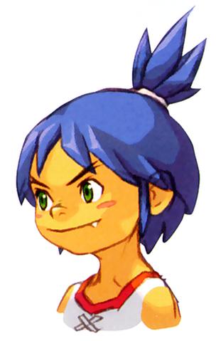 File:BoF II Young Ryu GBA Portrait.png