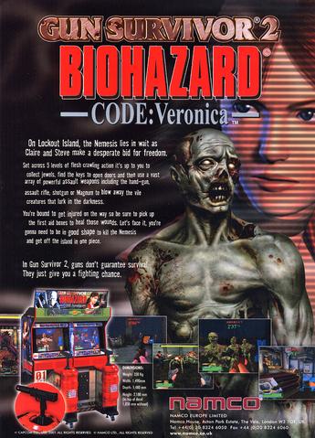 File:Biohazard Gun Survivor 2 Ad.png