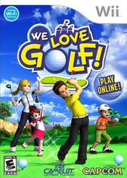 We Love Golf! NA Wii cover art