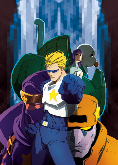 CapCom Manga Cover Art