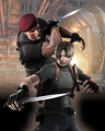 RE4 Krauser Battle