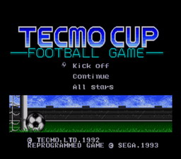 Tecmo Cup Football Game (SMD) IMG01