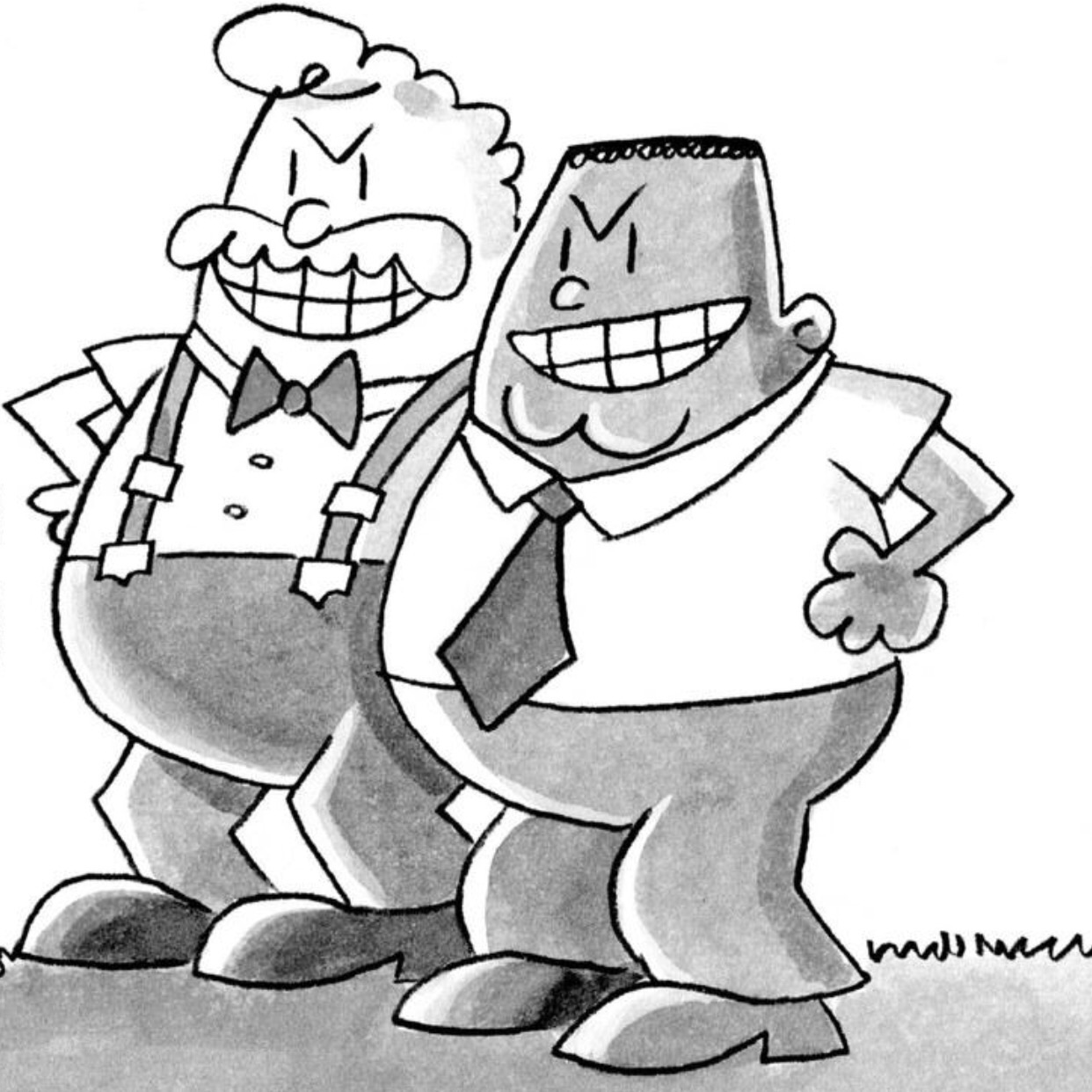 image george and harold jpg captain underpants wiki