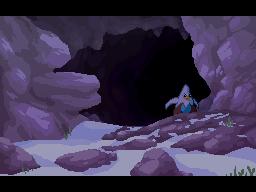 Downward Cave Evening