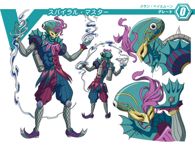 Spiral Master (Character Unit)