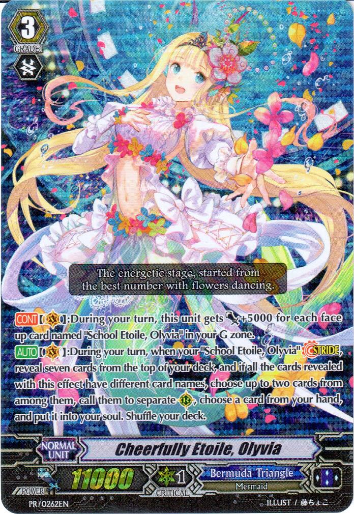 Cheerfully Etoile, Olyvia   Cardfight!! Vanguard Wiki ...