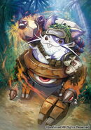 Pencil Hero, Hammsuke (Full Art)