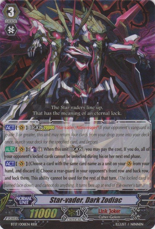 Star-vader, Dark Zodiac   Cardfight!! Vanguard Wiki ...