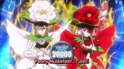 (Legion Mate) Cardfight!! Vanguard Peony Musketeer, Martina & Peony Musketeer, Thule 'Legion' - HD