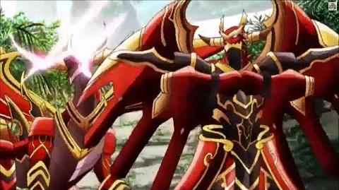 (Legion Mate) Cardfight!! Vanguard Brawler, Skybeat Dragon & Brawler, Skyhowl Dragon 'Legion' - HD-1