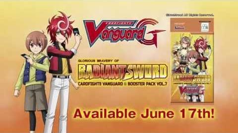 CARDFIGHT!! VANGUARD G Booster Pack Vol