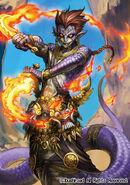Demonic Dragon Berserker, Yaksha (full art)