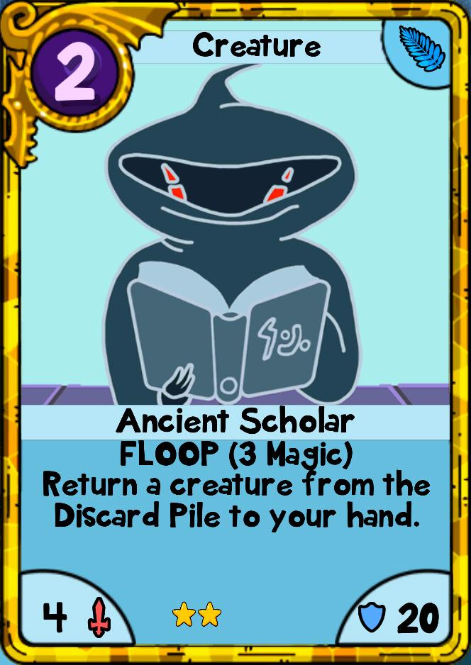 Ancient Scholar Card Wars Wiki Fandom Powered By Wikia