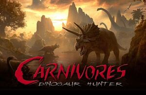 Carnivore Dinosaur Hunter art