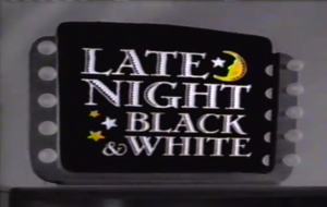 Late Night Black & White Logo