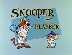 Snooper and Blabber title