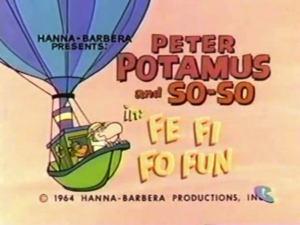 Peter Potamus and So-So Title Card