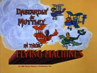 Dastardly and Muttley Title Card