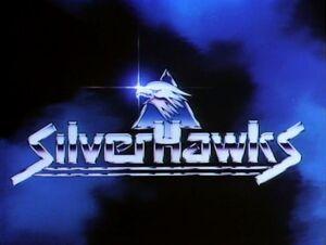 Silverhawks Title Card
