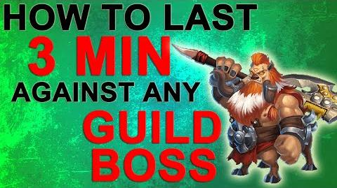 Castle Clash How to last 3 minutes against any Guild Boss