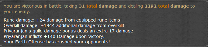 Overkill Bonus/Damage