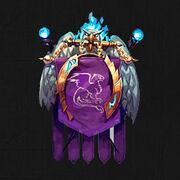 Guild symbol banner 9 left