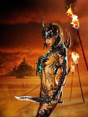 Rebecca warrior