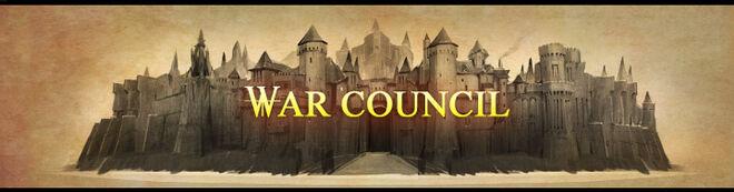War council banner