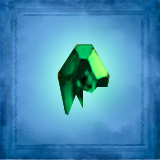 Green Emerald Shard 2