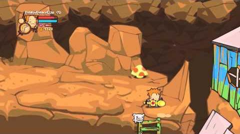 Castle Crashers Ladder Glitch