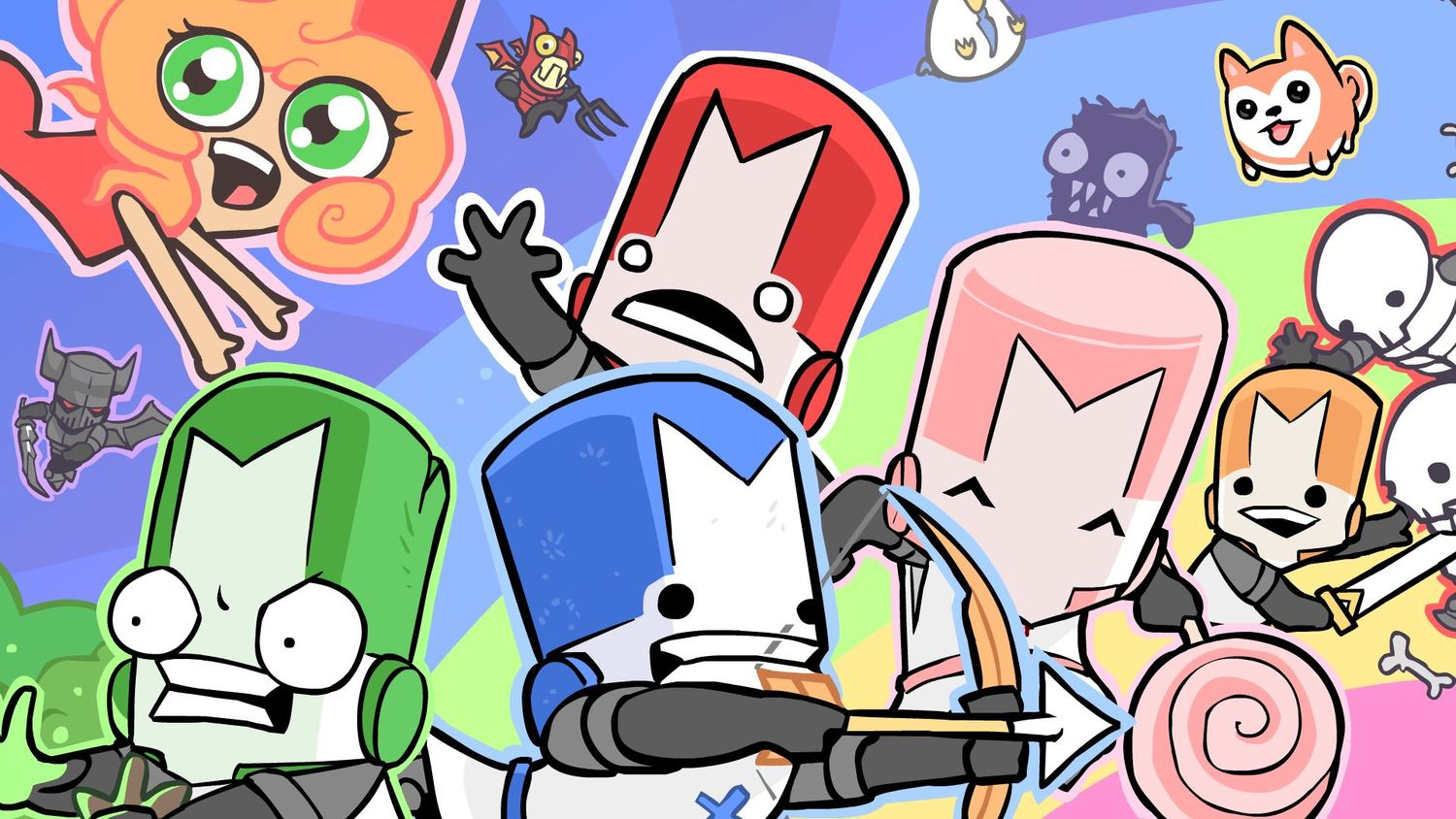 playable characters castle crashers wiki fandom powered by wikia