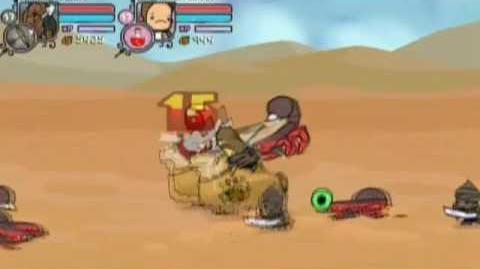 Castle Crashers Walkthrough Part 19 - Desert Chase