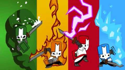 Castle Crashers - Flutey (Map Character Select Screen)