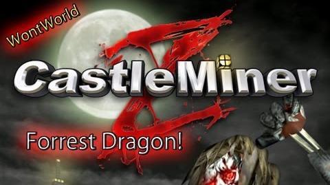 Castle Miner Z - Forrest Dragon